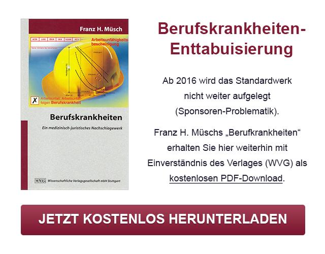 """Kostenloser Download: Franz H. Müschs """"Berufskrankheiten"""""""